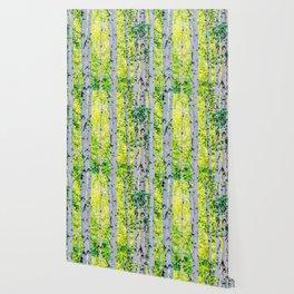 Birch Grove Wallpaper