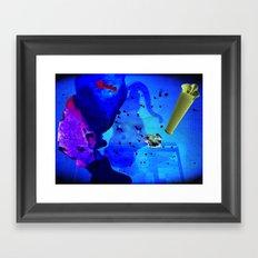 Glowda Framed Art Print