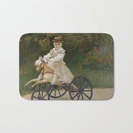 Jean Monet on his Hobby Horse Bath Mat