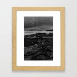 Winter Camus Framed Art Print