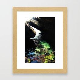 Sea Cave Framed Art Print