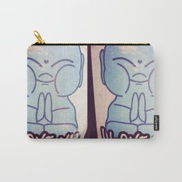 I LOVE YOU Buddha Carry-All Pouch