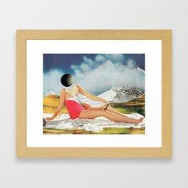 Upload - Collaboration with mesineto Framed Art Print