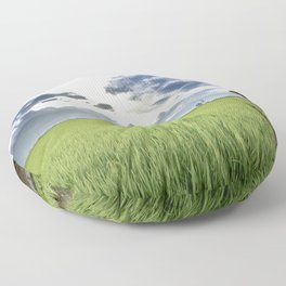The Paddy Field Floor Pillow
