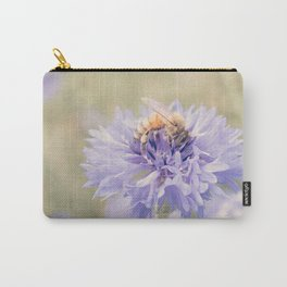 Anatomy of a Bee: Purple and Bee.3 Carry-All Pouch