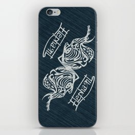 White Elephant version all over print shirts iPhone Skin