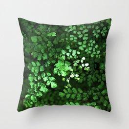 Maidenhair Throw Pillow