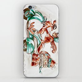 Doxie Vespa iPhone Skin
