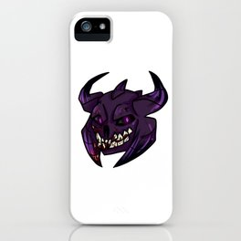 Friendly Faces: Abaddon iPhone Case