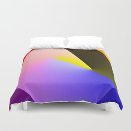 Expressionist Cubes II  Duvet Cover