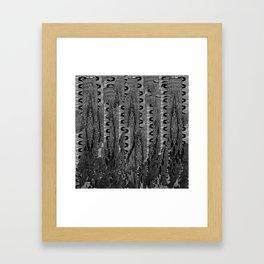 B L O C K 3 Framed Art Print