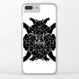 Destructo Clear iPhone Case
