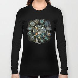 """""""Astrological Mechanism - Zodiac"""" Long Sleeve T-shirt"""