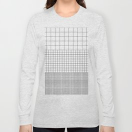 3 Grids Long Sleeve T-shirt