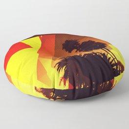 Palms Floor Pillow
