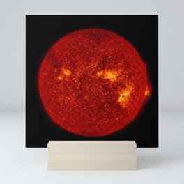 Solar Flares 2, Sept. 4, 2017 Mini Art Print