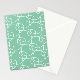 Bubble Pattern Mint #homedecor Stationery Cards