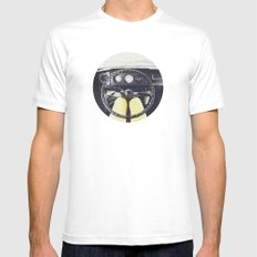 From Behind The Wheel - I Mens Fitted Tee White MEDIUM
