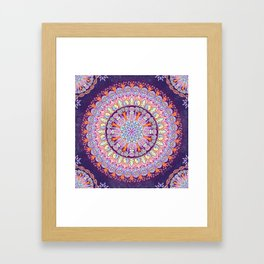 Galactic Alignment Framed Art Print