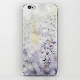 Elegant Wisteria iPhone Skin