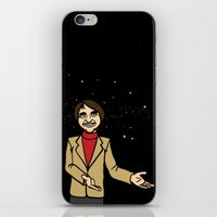 carl sagan iPhone & iPod Skins featuring Carl Sagan by Snarkasmic