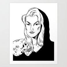 Zeena  Art Print