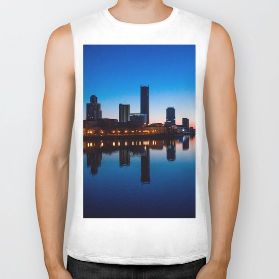 Night city Biker Tank