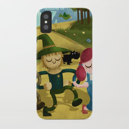 Wizard of Oz fan art iPhone Case