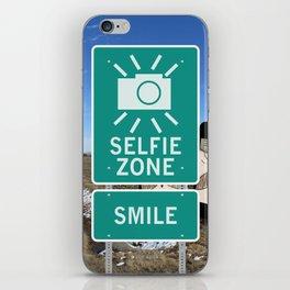 Selfie Zone - Smile iPhone Skin