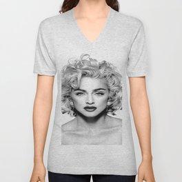 Madonna Portrait Unisex V-Neck