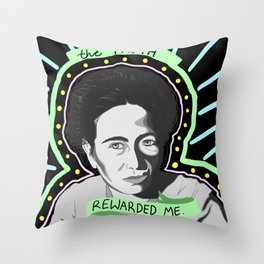 YOU'LL HAVE TO DO BETTER THAN THAT IF YOU WANT TO TAKE ME DOWN Throw Pillow