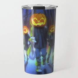 Attack of the Jack-O-Lanterns Travel Mug