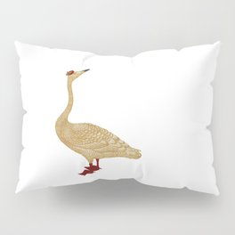 CHRISTMAS DELIVERY GOOSE Pillow Sham