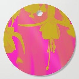 Neon Fuschias Cutting Board