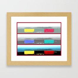 Cala Tarida-1 Framed Art Print