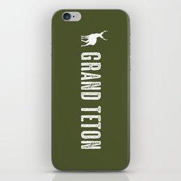 Deer: Grand Teton, Wyoming iPhone Skin