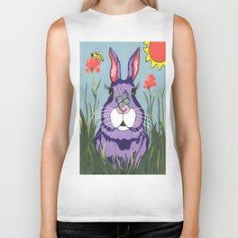 Funny Bunny - Happy Easter Biker Tank