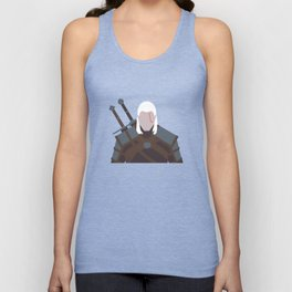 Geralt of Rivia - The Witcher Unisex Tank Top