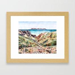 Buenavista, La Gomera Framed Art Print