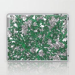 Green and White Camo Laptop & iPad Skin