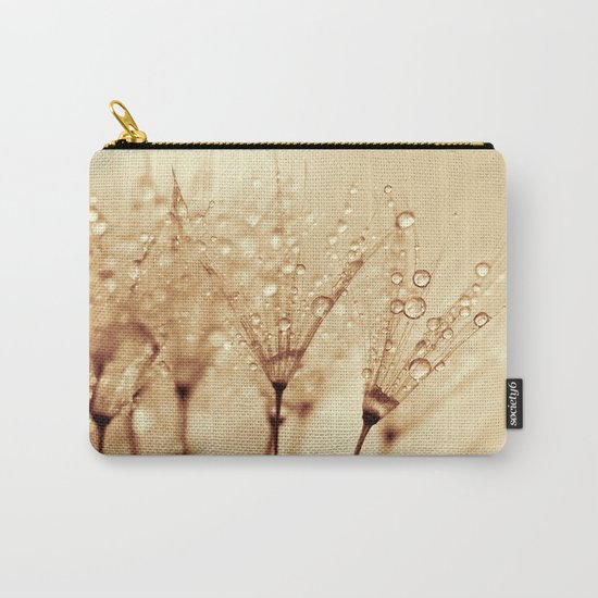 droplets of liquid gold Carry-All Pouch