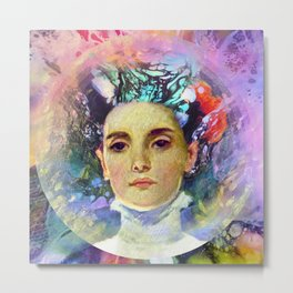 The Summer Child Metal Print