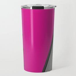 3D 1980s Inspired Geometric Print Travel Mug