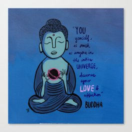Buddha Quote1 Canvas Print
