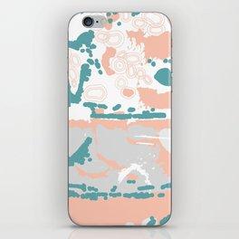 Pastel Pom Pom iPhone Skin