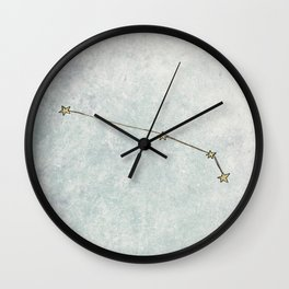 Aries x Astrology x Zodiac Wall Clock