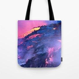 Kilauea Volcano Lava Flow. 4 Tote Bag