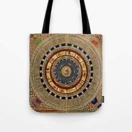 Constellation Chart 1387 Tote Bag