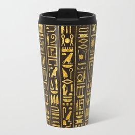 Gilded Hieroglyphs Travel Mug