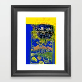 Pollinate Framed Art Print